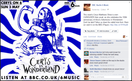 For Cerys On 6 - Celebrating Alice In Wonderland