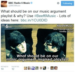 For #Beef6Music on Now Playing @6Music