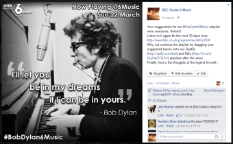 For #BobDylan6Music on Now Playing @6Music