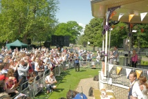 The Shires and Ricky Wilson perform in Alexandra Gardens, Windsor