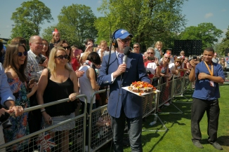 Chris Evans at the Royal Wedding in Windsor